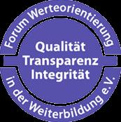 Siegel - Transparenz in der Weiterbildung