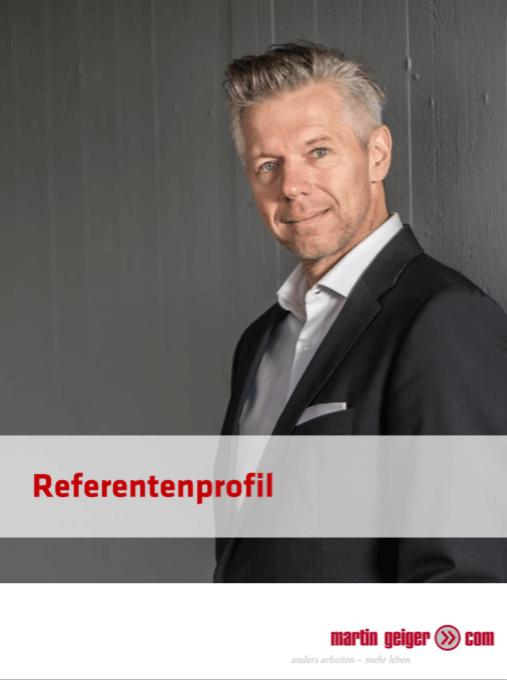 Referentenprofil Martin Geiger