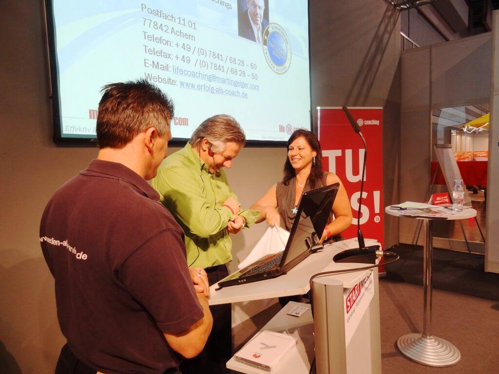 Keynote auf der START Messe in Nürnberg