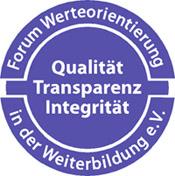 Siegel - Forum Werteorientierung in der Weiterbildung