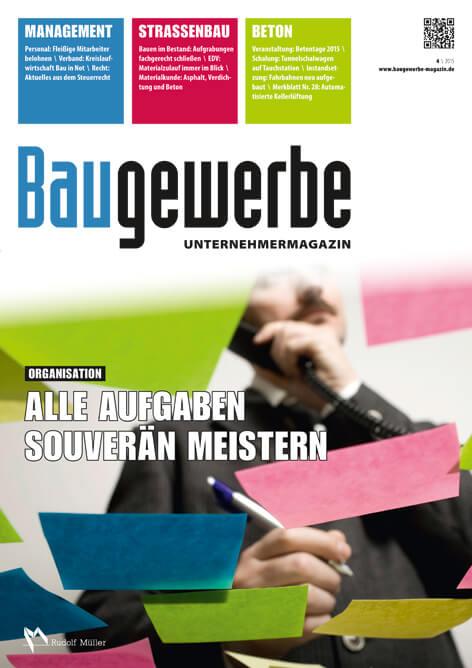 Baugewerbe – Unternehmermagazin