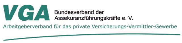 Logo VGA Bundesverband der Assekuranzführungskräfte e.V.