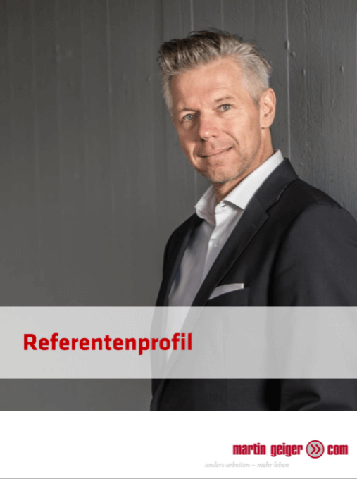Referentenprofil Martin Geiger
