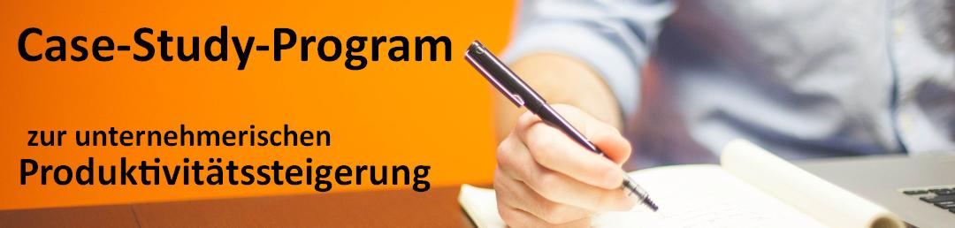 Case-Study-Program zur unternehmerischen Produktivitätssteigerung